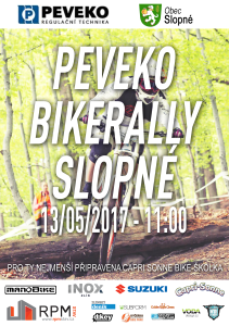 Peveko BikeRally Slopne 2017